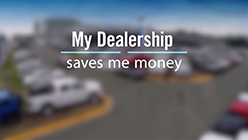 My Dealership Saves Me Money
